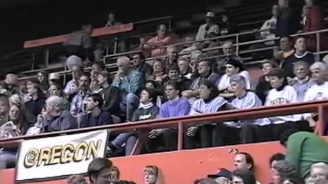 Thumbnail for entry University of Oregon vs. Oregon State University women's basketball, February 27, 1998