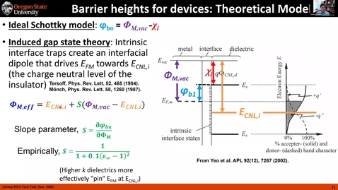 Thumbnail for entry Tech Talk Tuesday: Internal Photoemission Spectroscopy Measurement of Energy Barrier Heights at Interfaces of ALD Materials in Metal/Insulator/Metal (MIM) Device Structures (final)