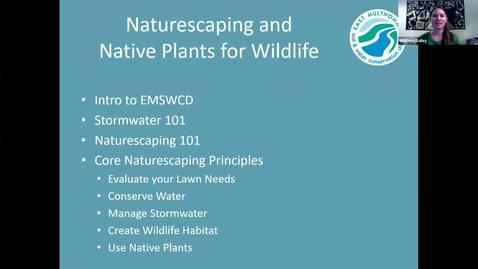 Thumbnail for entry Naturescaping & Native Plants for Wildlife - Metro area OSU Extension Service Master Gardener -  Garden Webinar Series, September 11, 2020