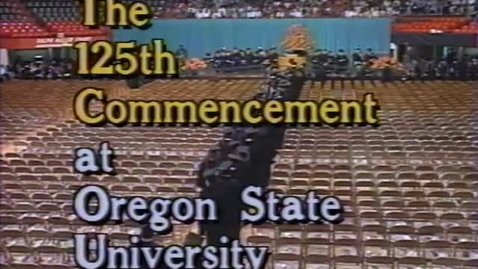 Thumbnail for entry OSU Commencement, 1994