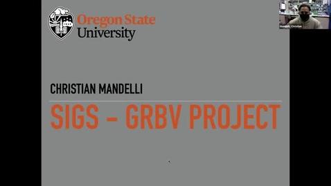 Thumbnail for entry Grape Day Webinar 2021: Christian Mandelli, OSU
