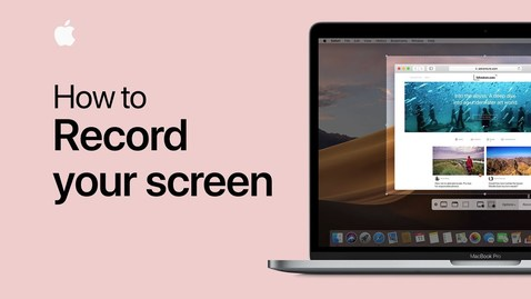 Thumbnail for entry How to record the screen on your Mac — Apple Support