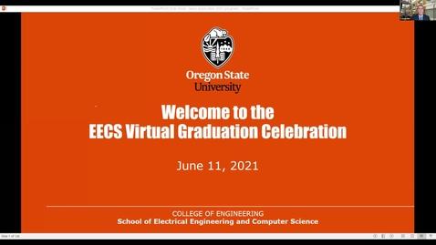Thumbnail for entry EECS Graduation Celebration 2021