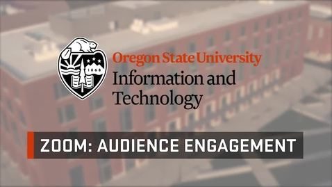 Thumbnail for entry Get to know Zoom with Media Services: Audience Engagement