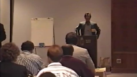 Thumbnail for entry Oregon Coast Sustainability Conference, Part 5. Newport, Oregon, June 6, 1996