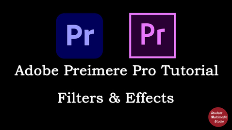 Thumbnail for entry Premiere Pro CS6 & CC: 27 Filters and Effects