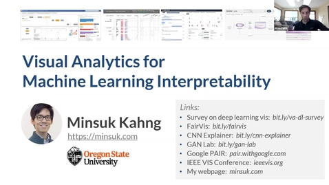 Thumbnail for entry Tech Talk Tuesday: Visual Analytics for Machine Learning Interpretability