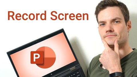 Thumbnail for entry How to Record Screen using Microsoft PowerPoint