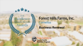 Thumbnail for entry Forest Hills Farms - 2018 Excellence in Family Business Awards