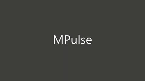 Thumbnail for entry MPulse Demonstration