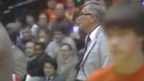 Thumbnail for entry University of Oregon vs. Oregon State University (men's basketball), March 3, 1984