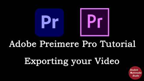 Thumbnail for entry Premiere Pro CS6 & CC: 99 Exporting Clips