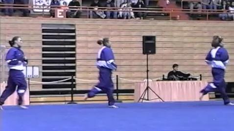 Thumbnail for entry University of Washington vs. Oregon State University gymnastics, January 30, 1998