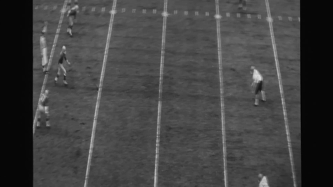 Thumbnail for entry Oregon State University vs. University of Oregon. Civil War football game, November 25, 1961.