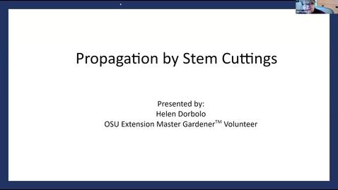 Thumbnail for entry Propagation - In the Garden Series - Washington County Master Gardener Association 2021_03