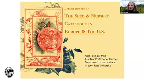 Thumbnail for entry A Short History of Seed and Nursery Catalogues - Clackamas Master Gardener Lecture Series