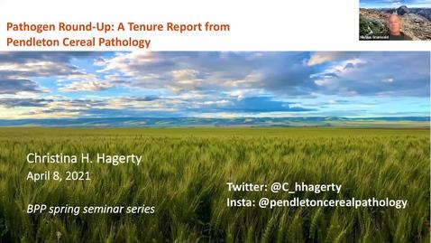Thumbnail for entry BPP Spring Seminar Series: Dr. Christina Hagerty