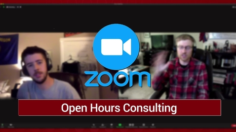Thumbnail for entry SMS Consulting Available Online on Zoom!
