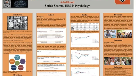 Thumbnail for entry Shrida Sharma Honors Thesis Poster