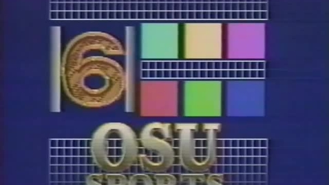 """Thumbnail for entry """"OSU Women's Basketball Review,"""" [KBVR-TV] January 1994"""