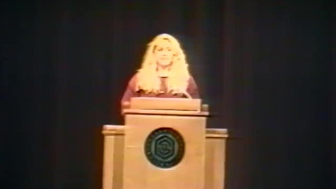 """Thumbnail for entry """"The Future of Health Care in America,"""" lecture by Arthur Caplan, November 16, 1993"""