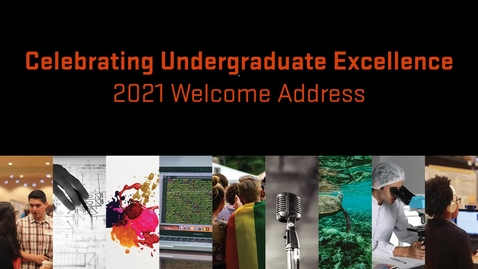 Thumbnail for entry CUE 2021 Welcome address