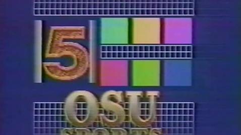 "Thumbnail for entry ""OSU Women's Basketball Review,"" [KBVR-TV] February 1994"