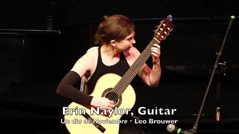 Thumbnail for entry Erin Naylor, Guitar