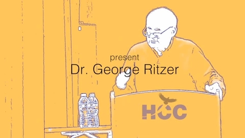 Thumbnail for entry George Ritzer