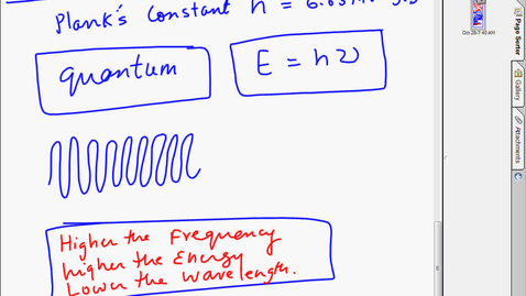 Thumbnail for entry chapter7 wave nature and quantum numbers chapter 7 part 1