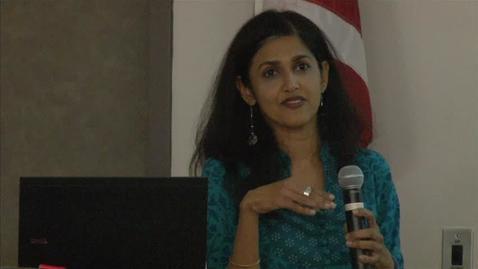Thumbnail for entry Bridging Cultures: Sehba Sarwar