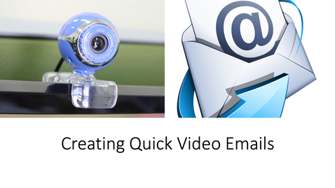 Thumbnail for entry Creating Quick Video Emails Inside Canvas