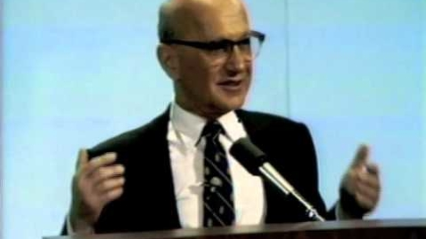 Thumbnail for entry Milton Friedman - Imports, Exports & Exchange Rates