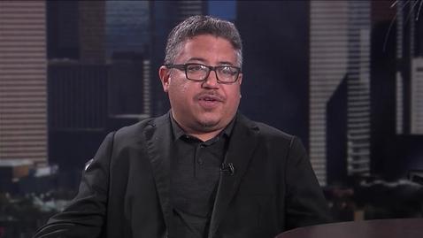 Thumbnail for entry Jorge Alegría: American Dream Curator Rolando Reyna on The Topic