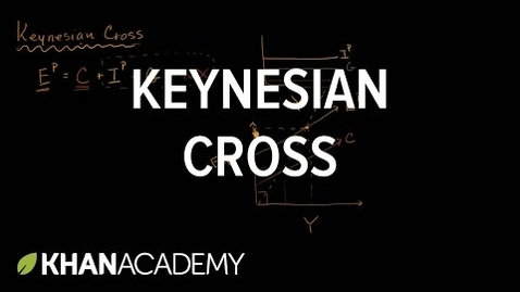 Thumbnail for entry Keynesian Cross