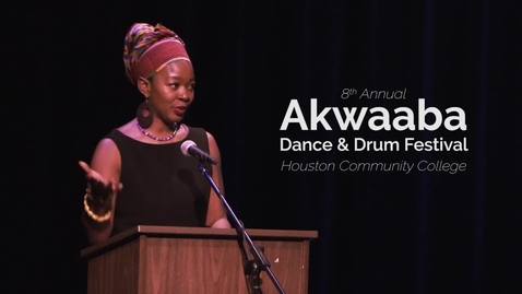 Thumbnail for entry 8th Annual Akwaaba Dance and Drum Festival: Pre-Performance Talk