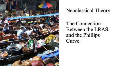 Thumbnail for entry The Neoclassical Perspective - The Connection Between the LRAS and the Phillips Curve