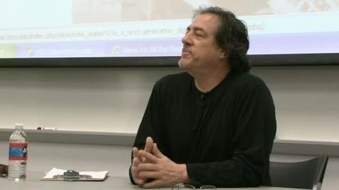 Thumbnail for entry A Talk with Dagoberto Gilb