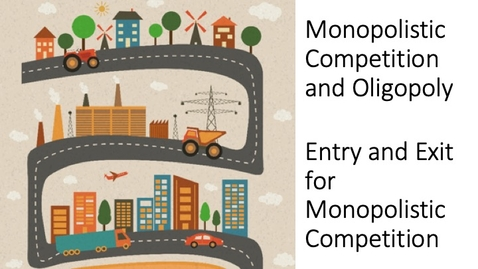 Thumbnail for entry Oligopoly - Monopolistic Competition - Entry and Exit