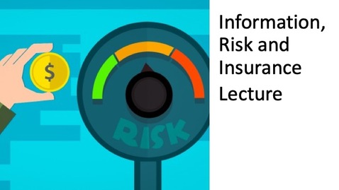 Thumbnail for entry Information, Risk and Insurance