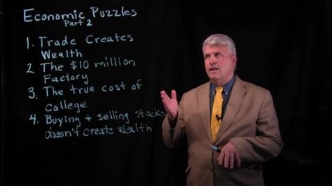 Thumbnail for entry Economic Puzzles - Part 2.mov