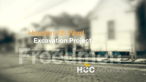 Thumbnail for entry 4th Ward Excavation Project