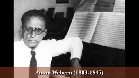 Thumbnail for entry Anton Webern