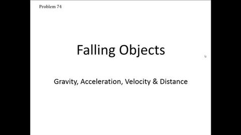 Thumbnail for entry Falling Objects