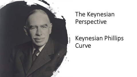 Thumbnail for entry The Keynesian Perspective - Keynesian Phillips Curve
