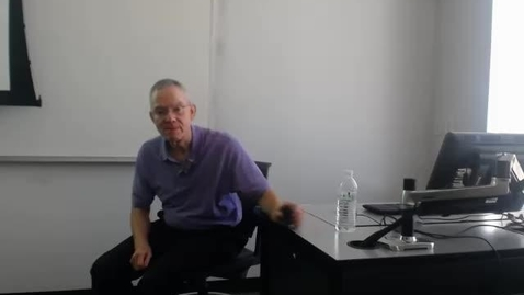 Thumbnail for entry Corrections: Professor Tannahill's Lecture of May 5, 2016