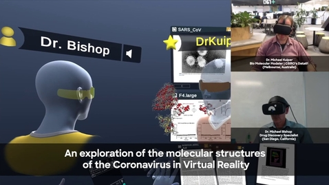 Thumbnail for entry Exploring Coronavirus Molecules in VR with Dr. Kuiper