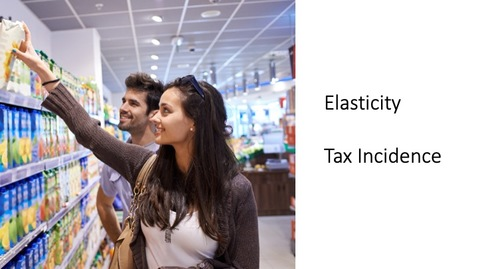 Thumbnail for entry Elasticity - Elasticity and Tax Incidence