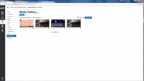 Thumbnail for entry Canvas' My Media vs Media Gallery