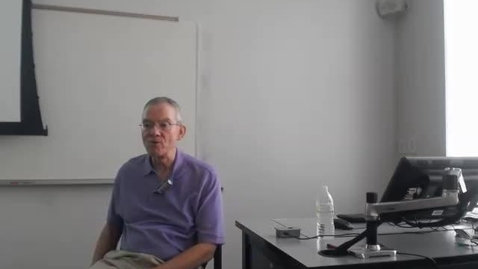 Thumbnail for entry Judges in Texas: Professor Tannahill's Lecture of March 3, 2016